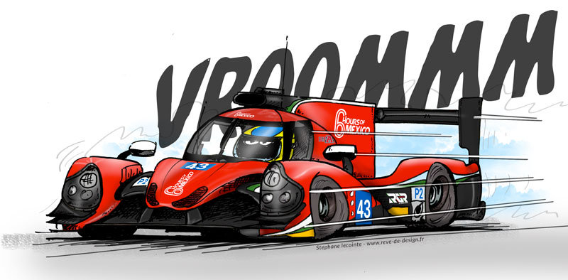 rgr-byMorand illustration 24 du Mans