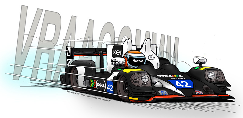 illustration sport automobile endurance