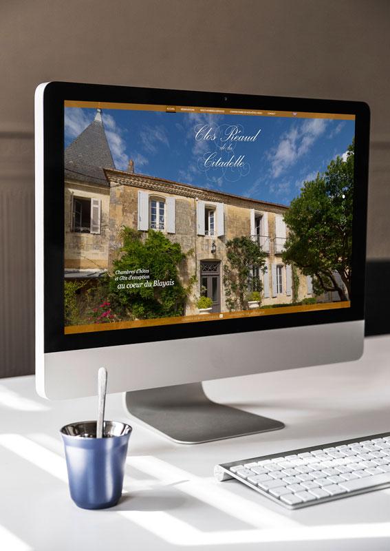 création d'un site internet pour des chambres d'Hôtes
