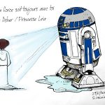 dessin-hommage-star-war-carrie-fisher