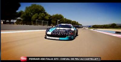 décoration ferrari 458 GT3 duqueine